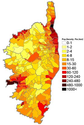 Corsica Population