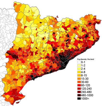 Afbeeldingsresultaat voor map barcelona catalunya